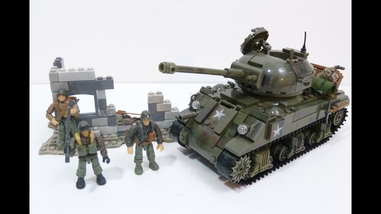 mega bloks combat tank instructions