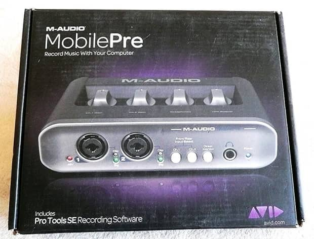 m audio mobilepre usb manual