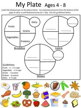 Kids healthy food and activity guide