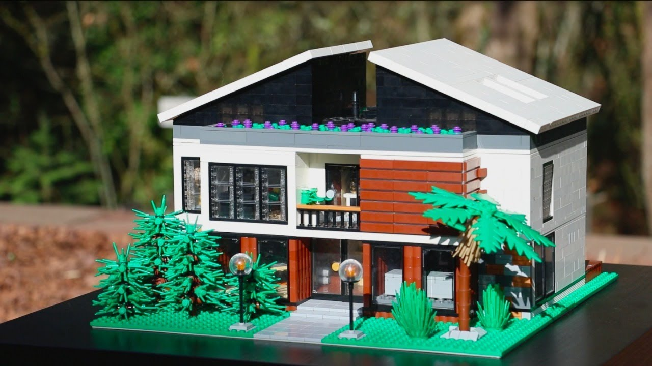 lego modern house instructions