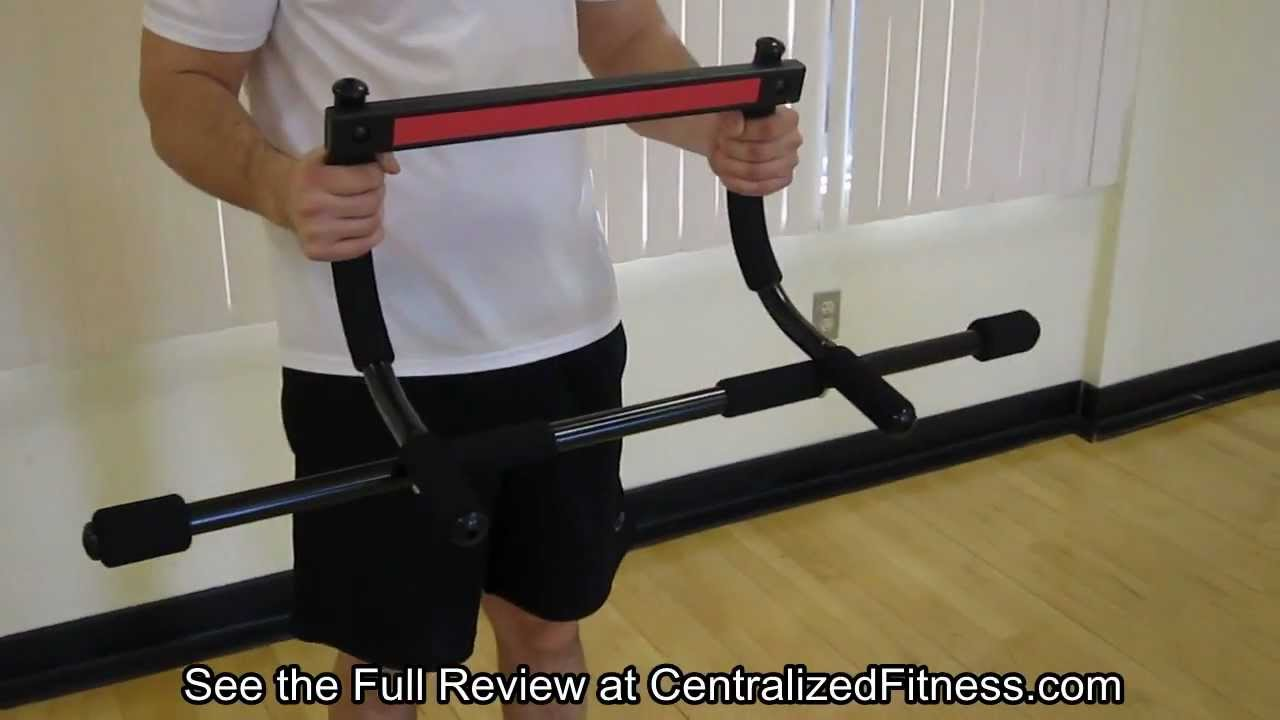 pro fit iron gym pull up bar instructions