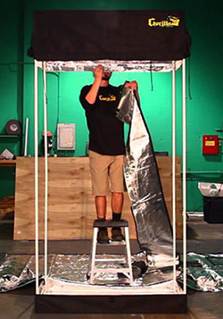 Grow tent assembly instructions