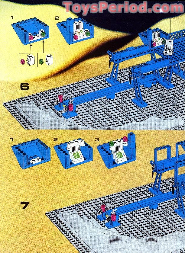 neo classic space lego instructions