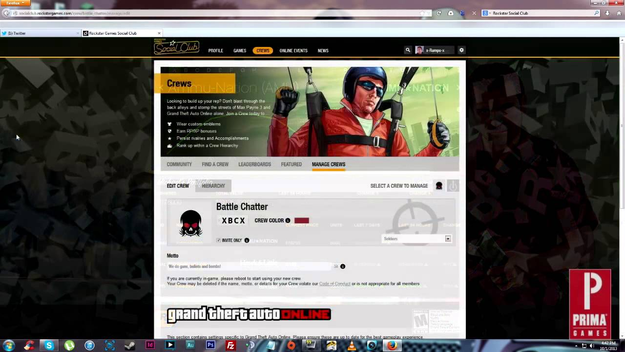 Gta v online how to change your display name