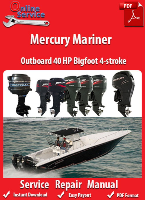 mercury 40 hp outboard service manual pdf