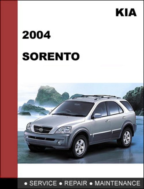 2004 kia sorento repair manual