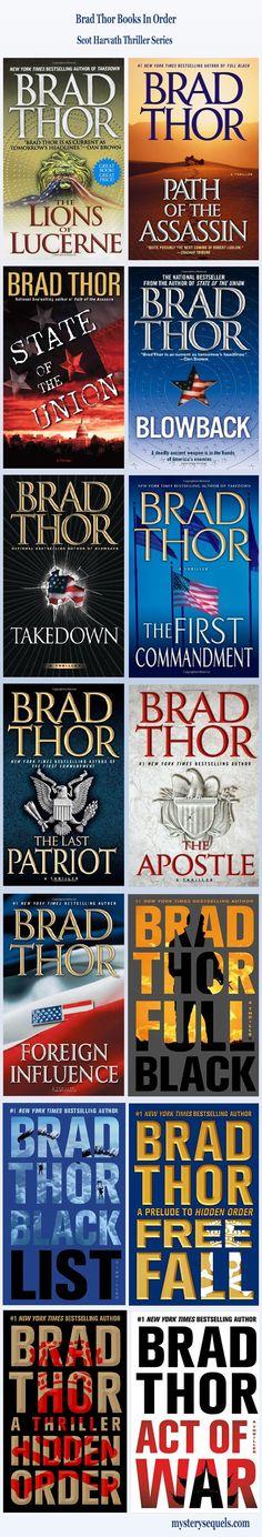 Brad thor books in order pdf