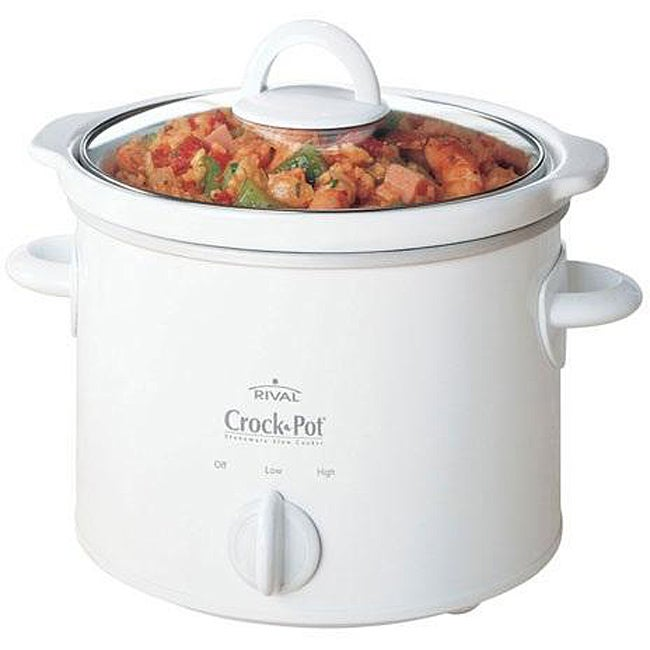 crock pot scr400 b 4 quart manual slow cooker black