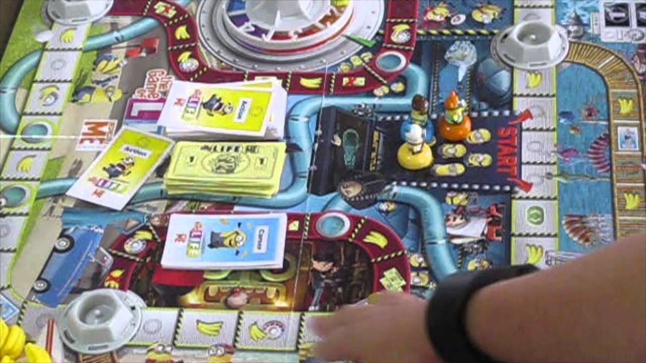 despicable me minion the game of life instructions