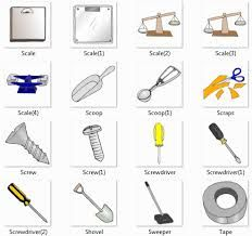 Mechanical tools list with pictures pdf