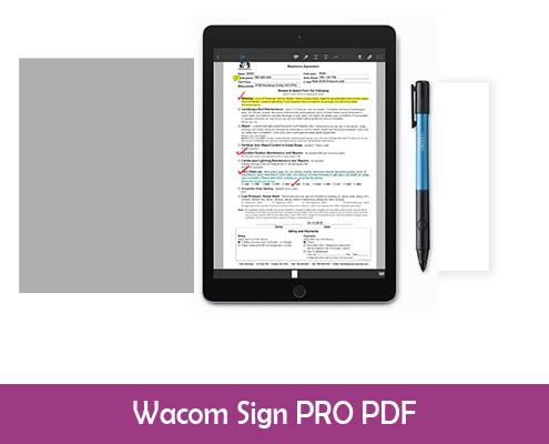 Wacom sign pro pdf software download