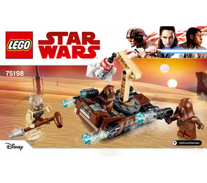 Lego star wars battle pack instructions