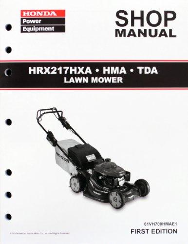 Honda hrx 217 owners manual