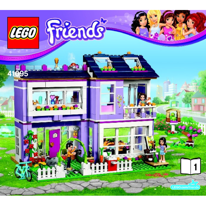 emma house lego friends instructions