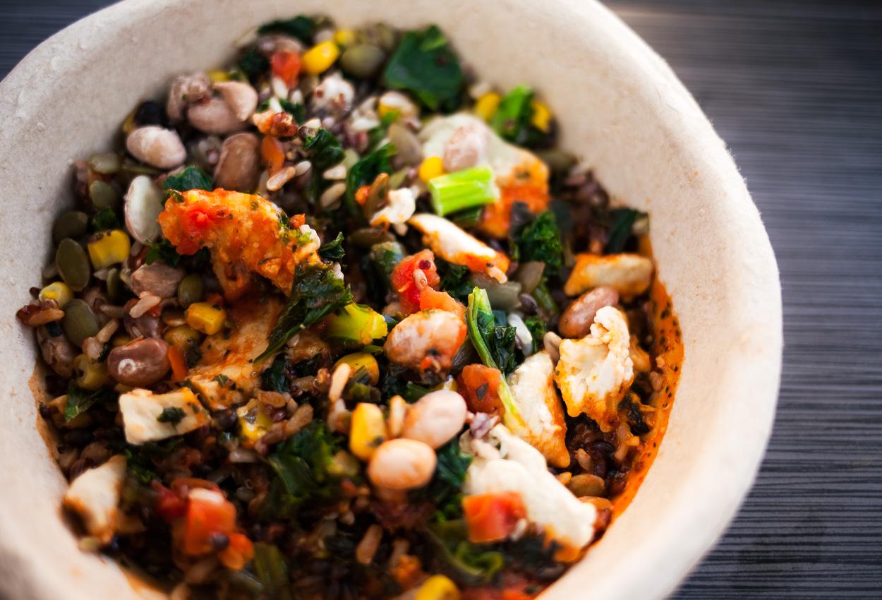 Healthy choice power bowls cuban-inspired pork bowl how to prepare