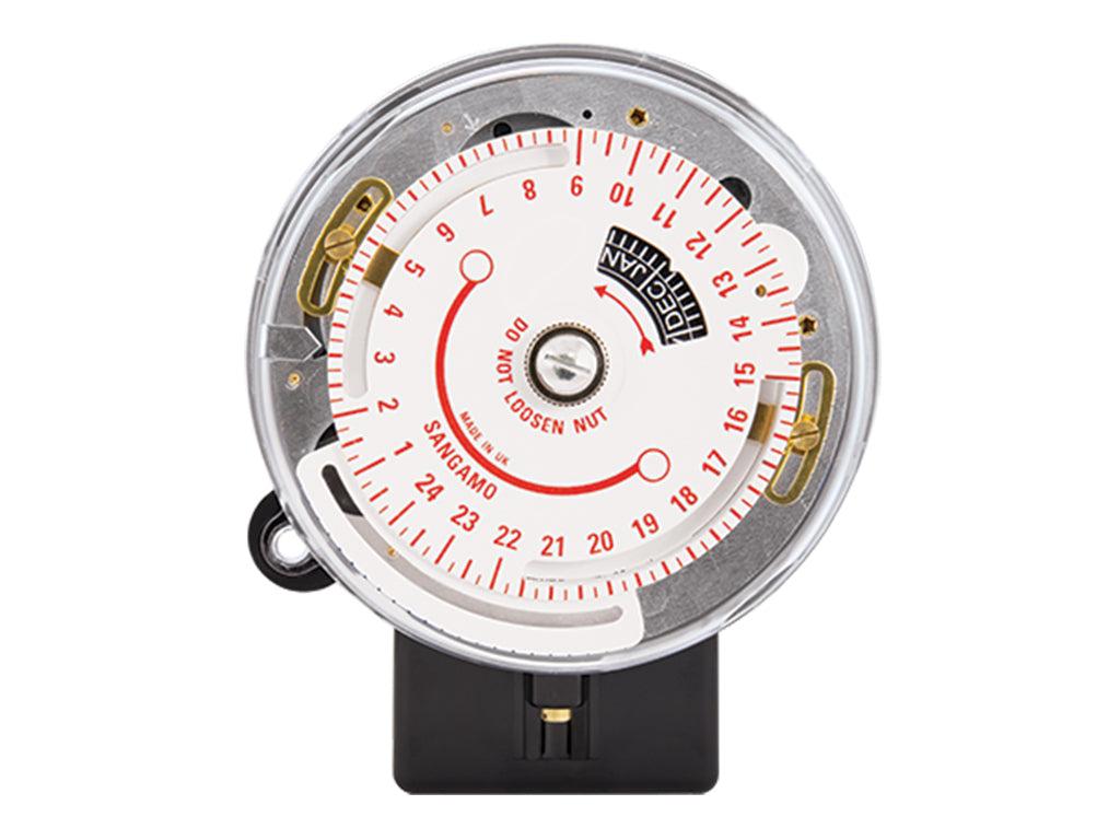 sangamo solar time clock instructions