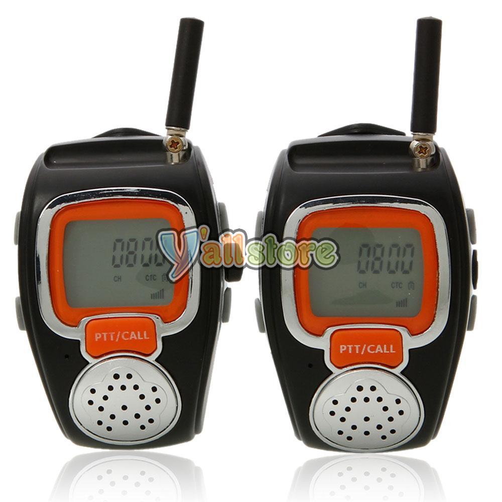 freetalker walkie talkie watch instructions