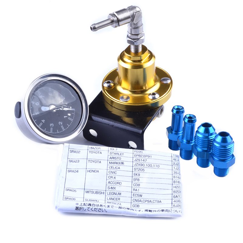 Universal fuel pressure regulator instructions