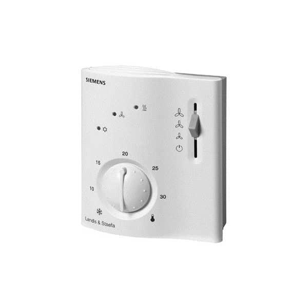 Siemens room temperature controller manual