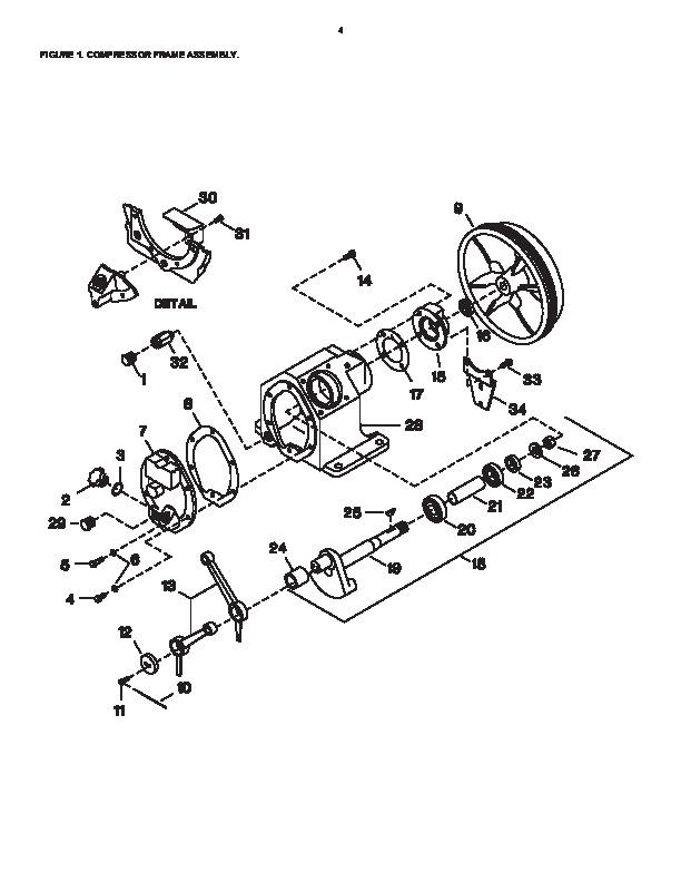 Ingersoll rand t30 air compressor parts manual