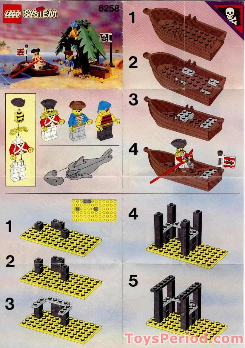 lego system sets instructions