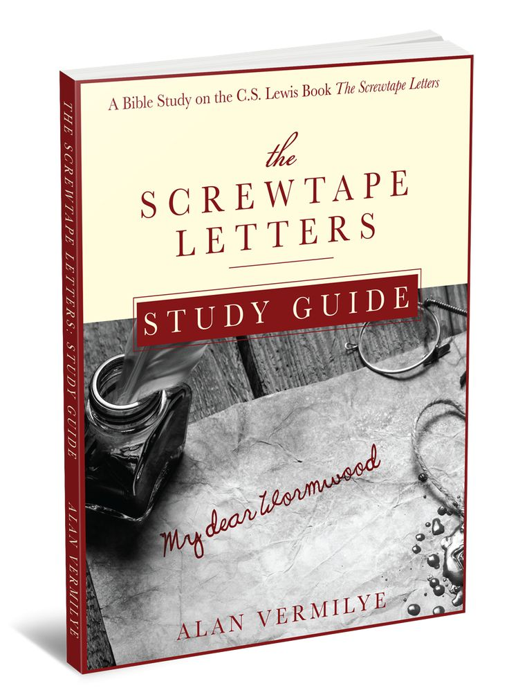 Screwtape letters bible study pdf