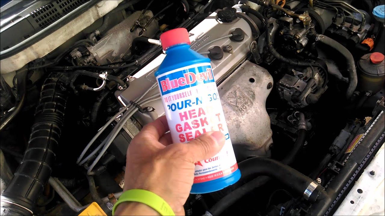 blue devil head gasket repair instructions