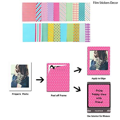 Polaroid z2300 how to add border