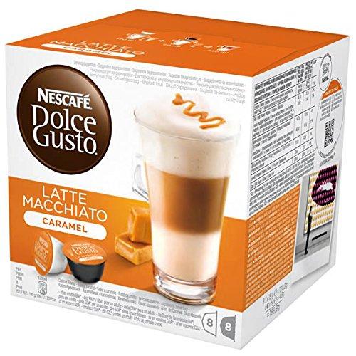 dolce gusto caramel latte macchiato instructions