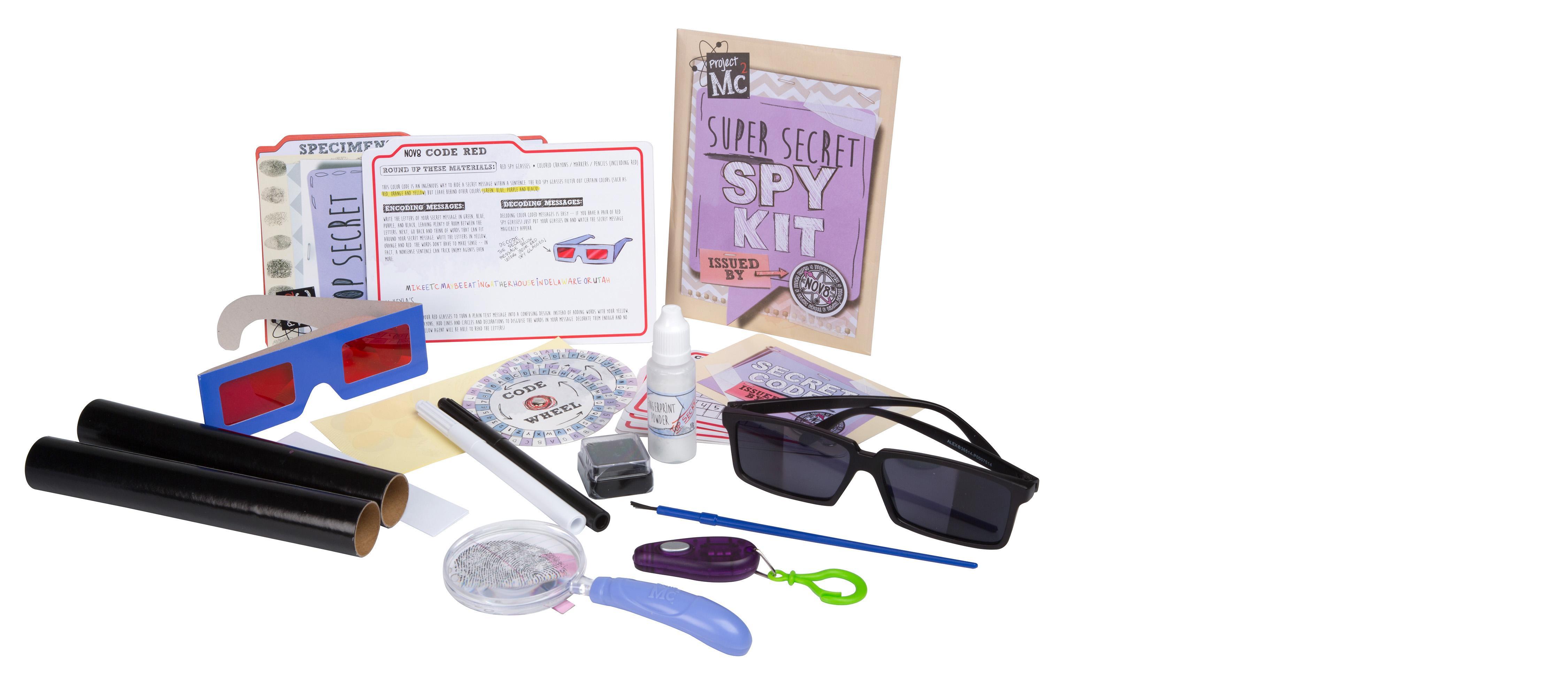 project mc2 spy kit instructions