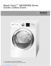 Bosch 300 series washer manual