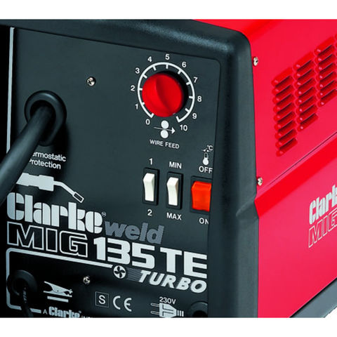 clarke turbo weld 150en manual