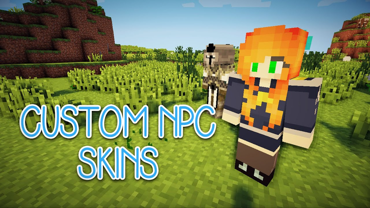 Custom npcs mod 1.7 10 how to add skins