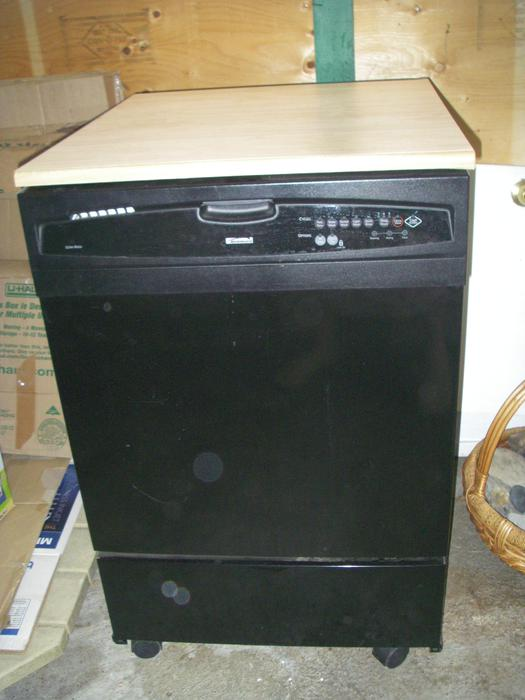 Kenmore portable dishwasher model 665 manual