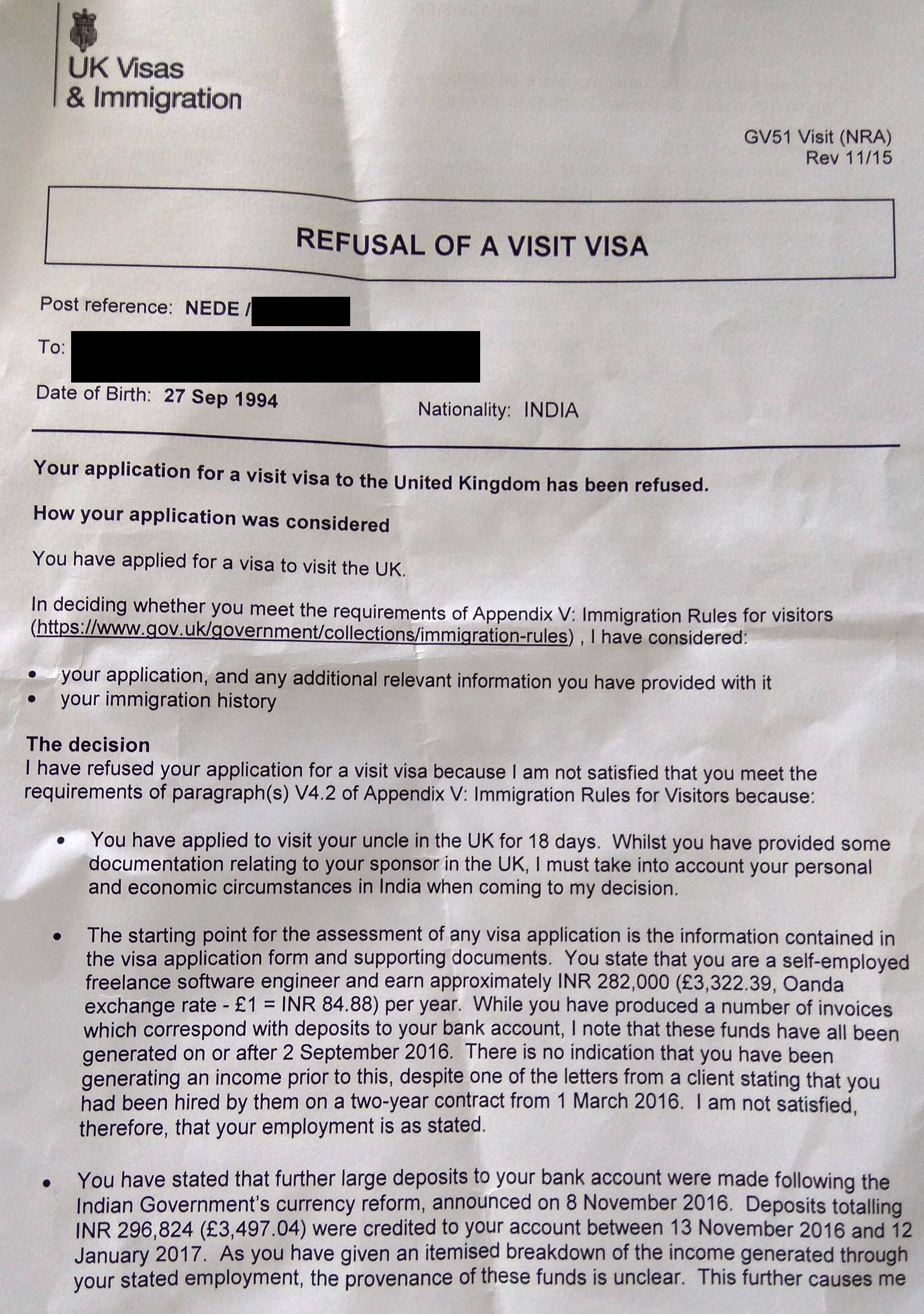 Family visit visa uk online application
