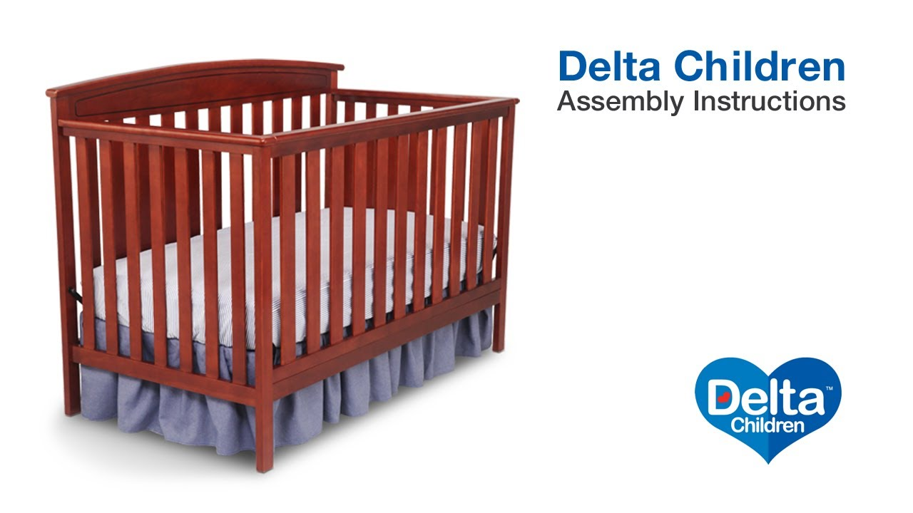 Delta 4 in 1 crib manual