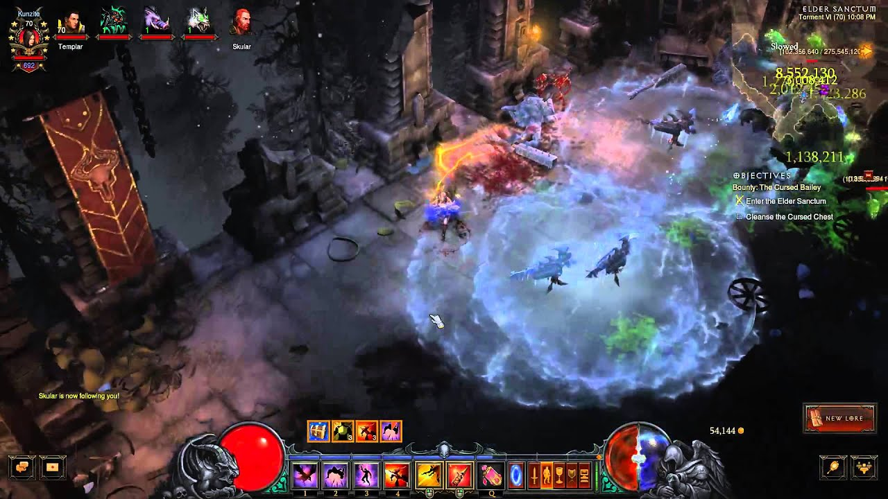 Diablo 3 ruins of sescheron how to get there