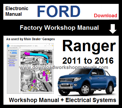 2005 ford courier 4.0 v6 workshop manual