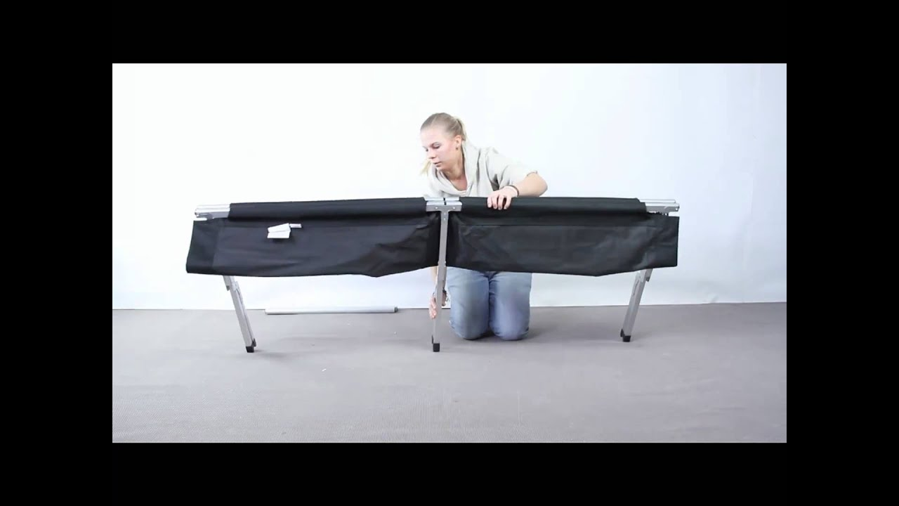 firm handy bed camping cot instructions pdf