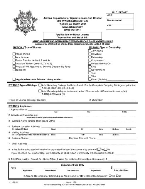 Agco liquor licence transfer application