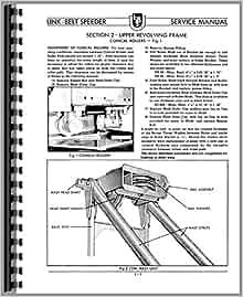 Link belt 218 operators manual