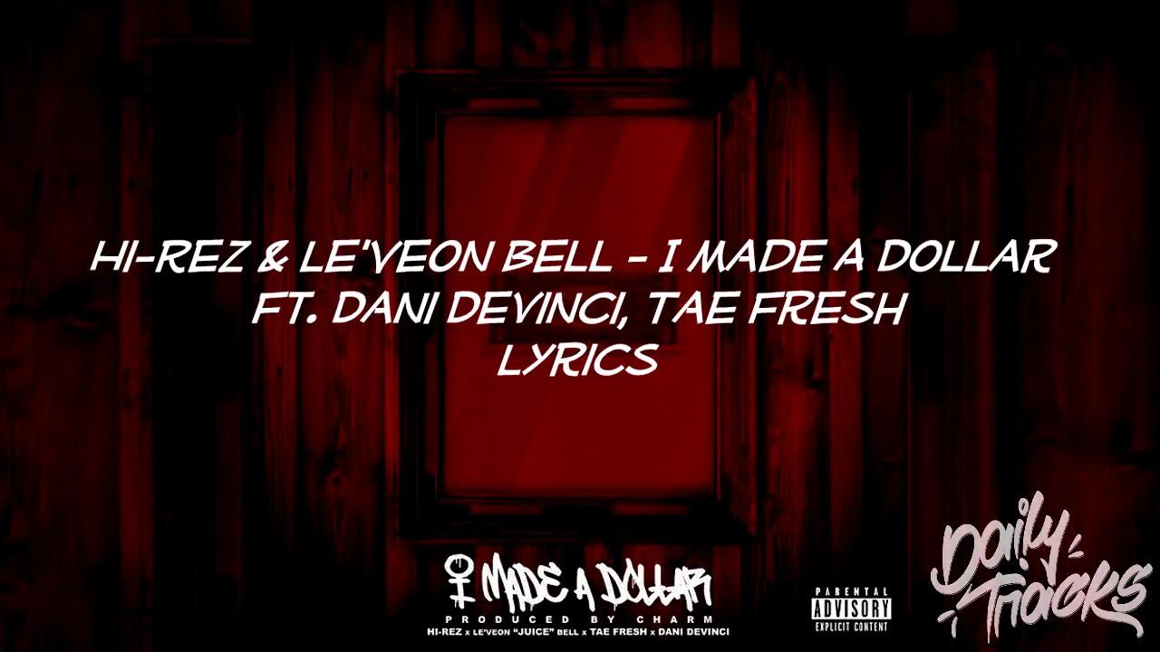 I need a dollar lyrics pdf