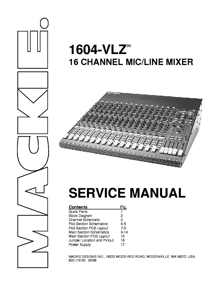 Mackie 1202 vlz3 manual pdf
