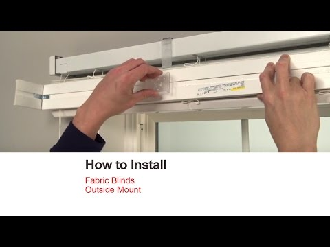 mainstays cordless blinds installation instructions