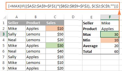 Microsoft excel formulas examples pdf