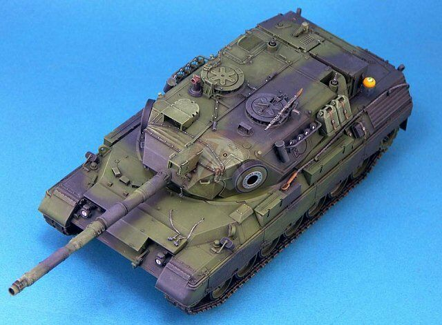 model paint instructions for australian army leopard as1