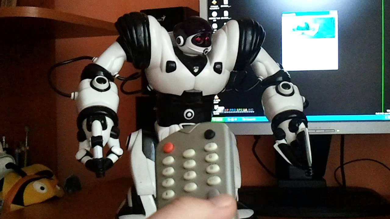 robosapien remote controller robot manual