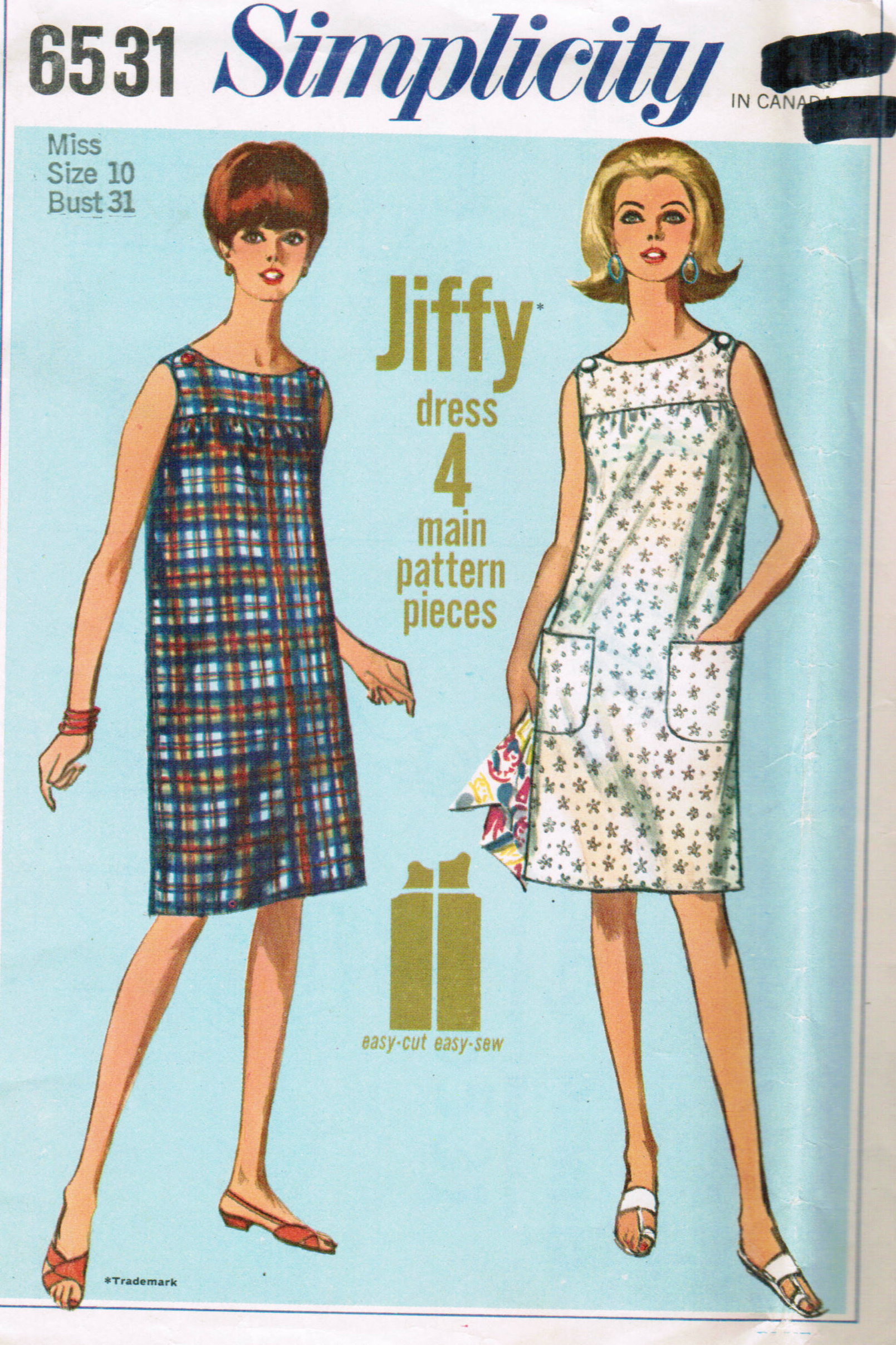 simplicity pattern 9143 instructions
