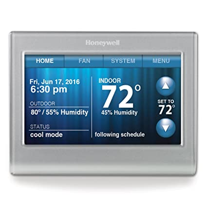 York touch screen thermostat manual
